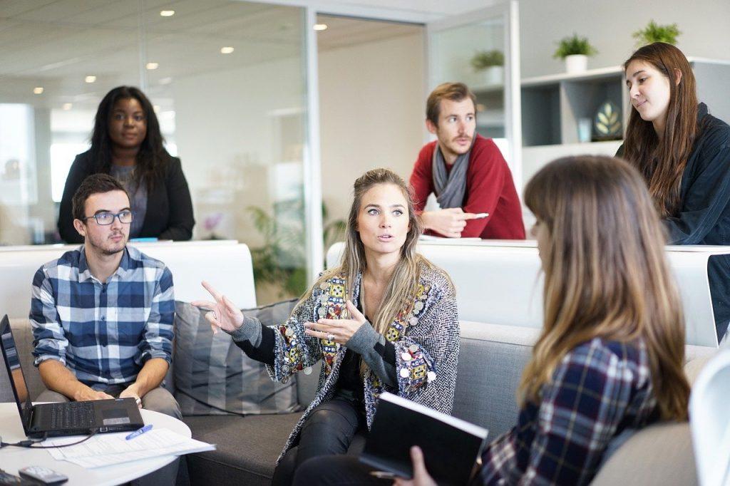 meeting, team, workplace